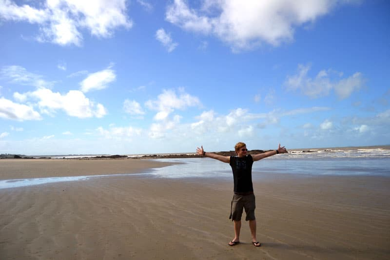 Yeppoon Strand an der Capricorn Coast, Australien