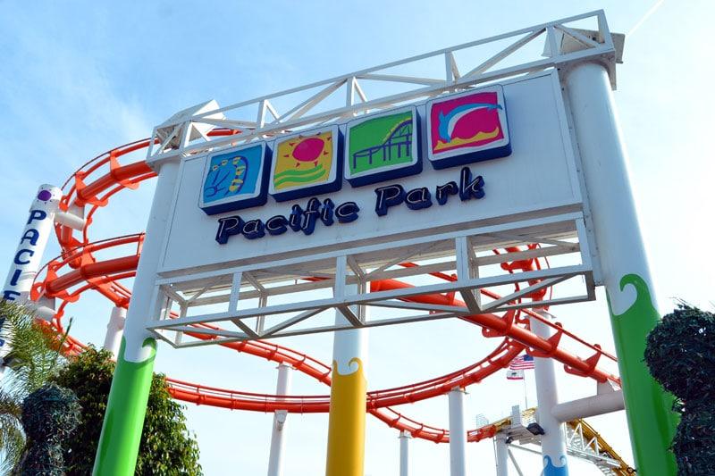 Pacific Park am Santa Monica Pier, Los Angeles, Kalifornien
