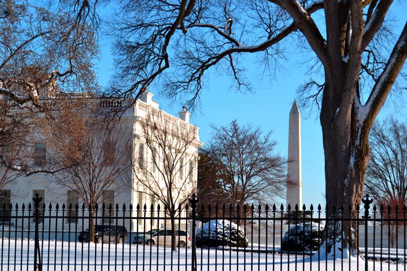 Washington Monument und Weißes Haus