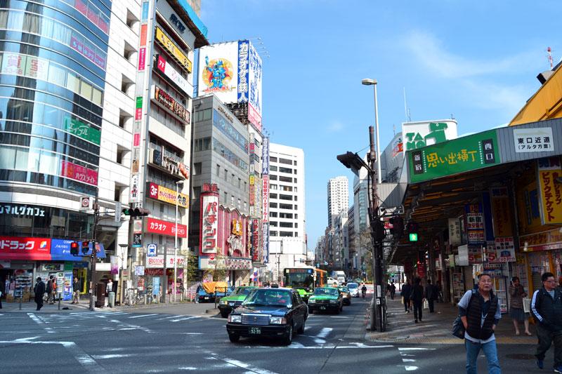 Shinjuku, Innenstadt von Tokio
