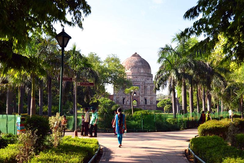 Delhi Lodi Gärten