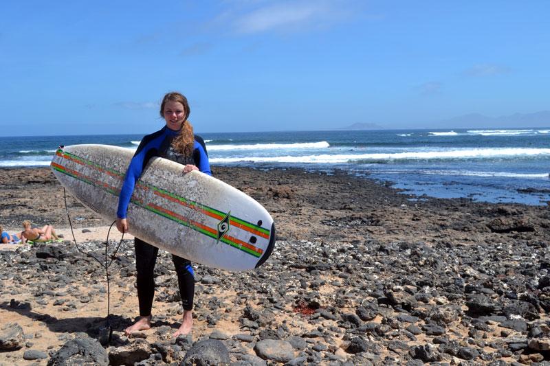 Surfen lernen bei Planet Surf Fuerteventura