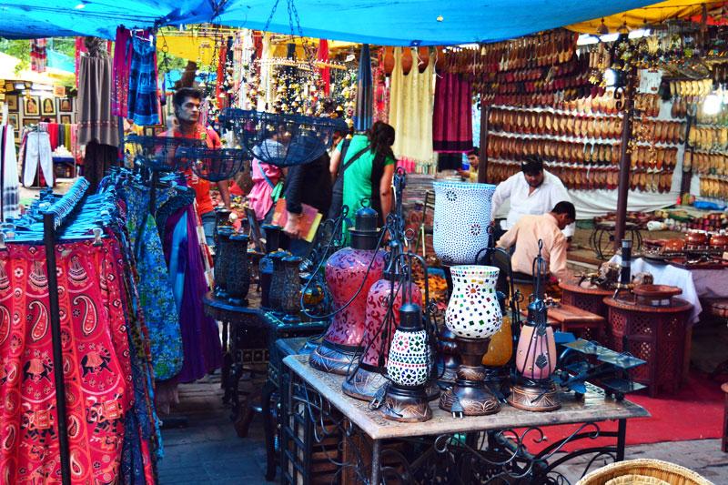 Dilli Haat, Markt in Delhi, Indien