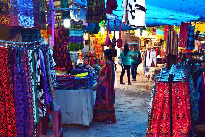 Dilli Haat, Markt in Delhi