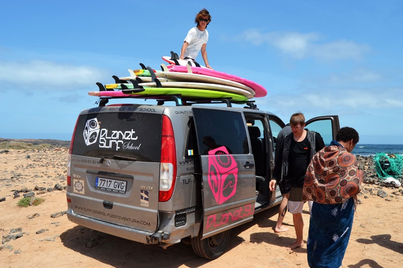 Intermediate Surfkurs:Surfschule Planet Surfcamps Fuerteventura