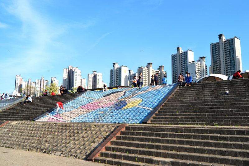 Jamsil Hangang Park in Seoul