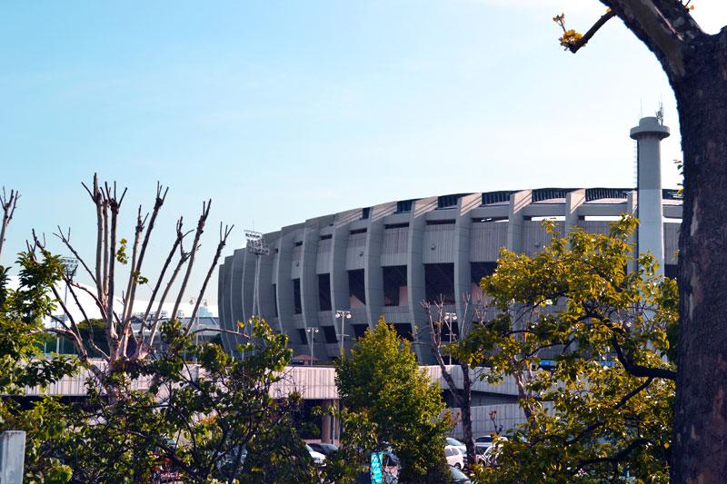 Olympiastadion im Olympiapark in Seoul