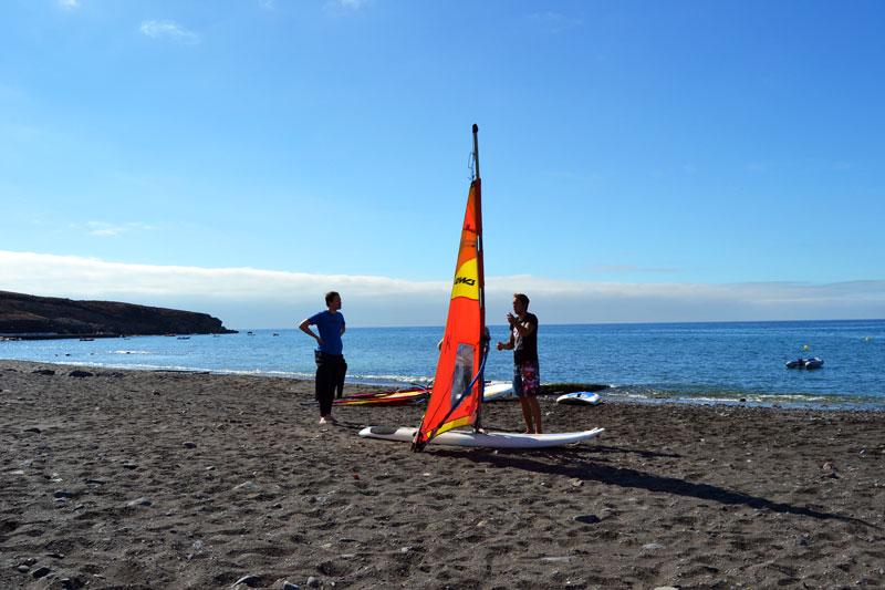 Windsurfkurs Watersports Fuerteventura Tarajalejo
