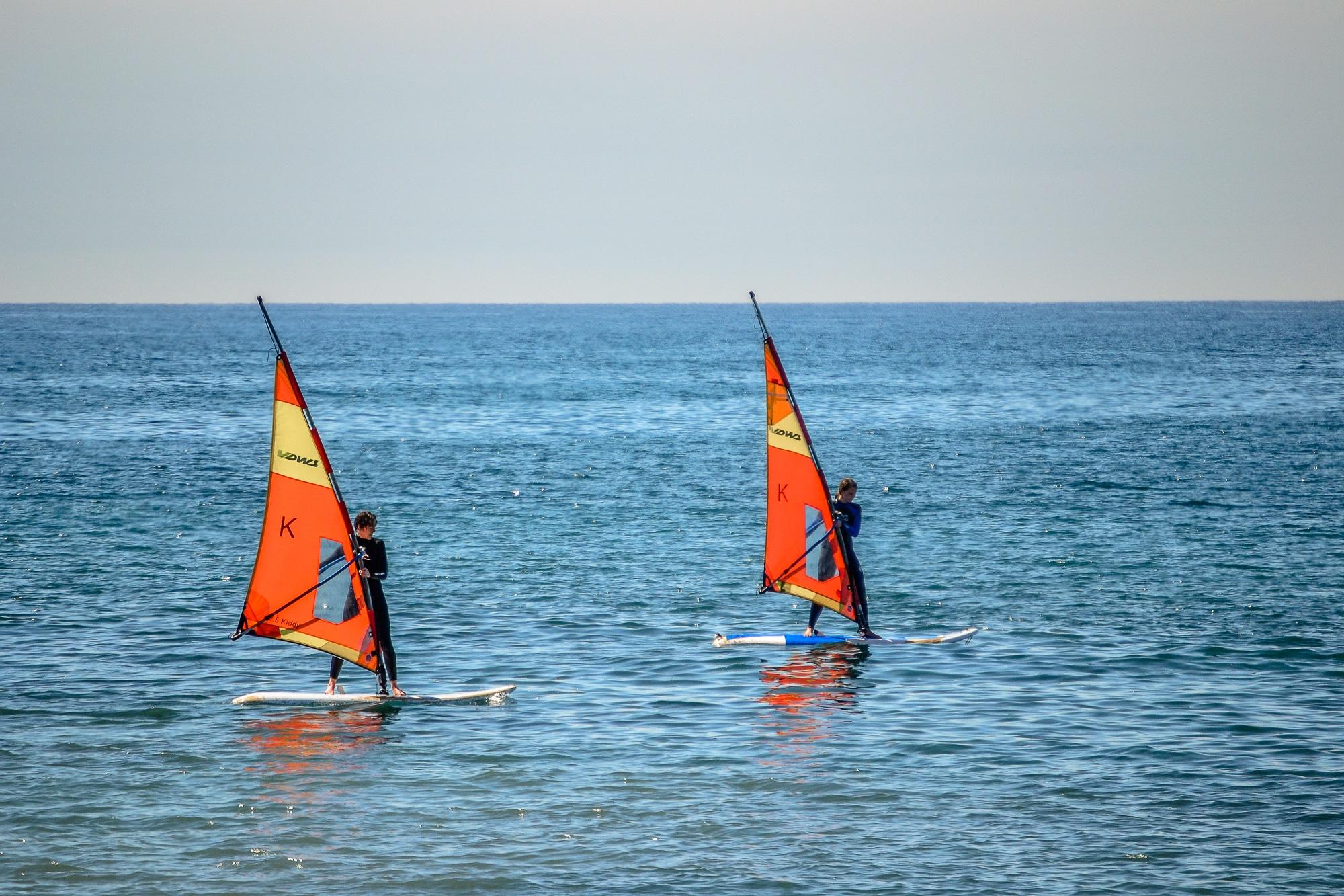 Windsurfkurs bei Watersports Fuerteventura