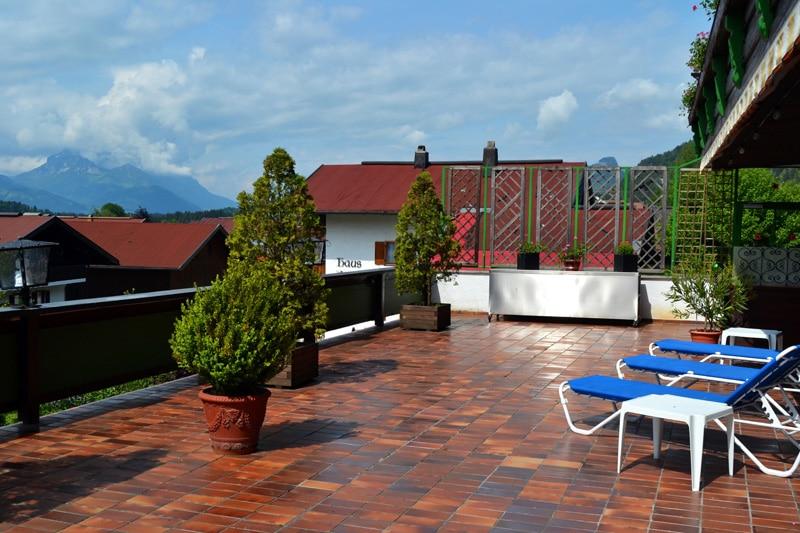 DEVA Hotel Sonnleiten Terrasse