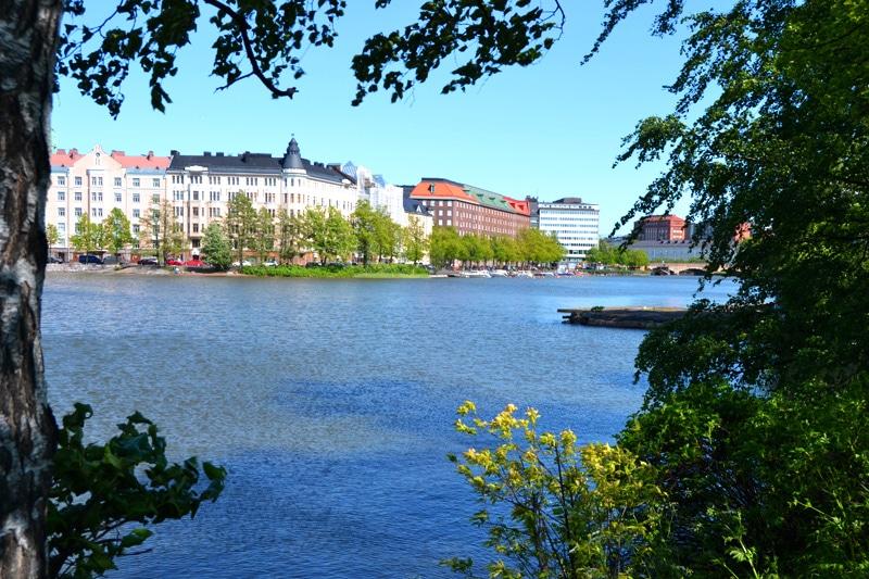 See Kaisaniemlahti in Helsinki, Finnland