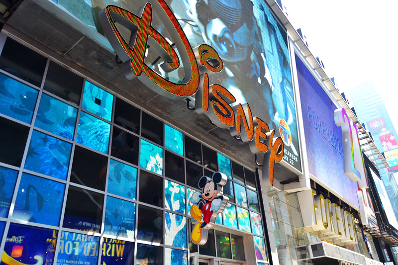 Disney Store am Broadway in New York