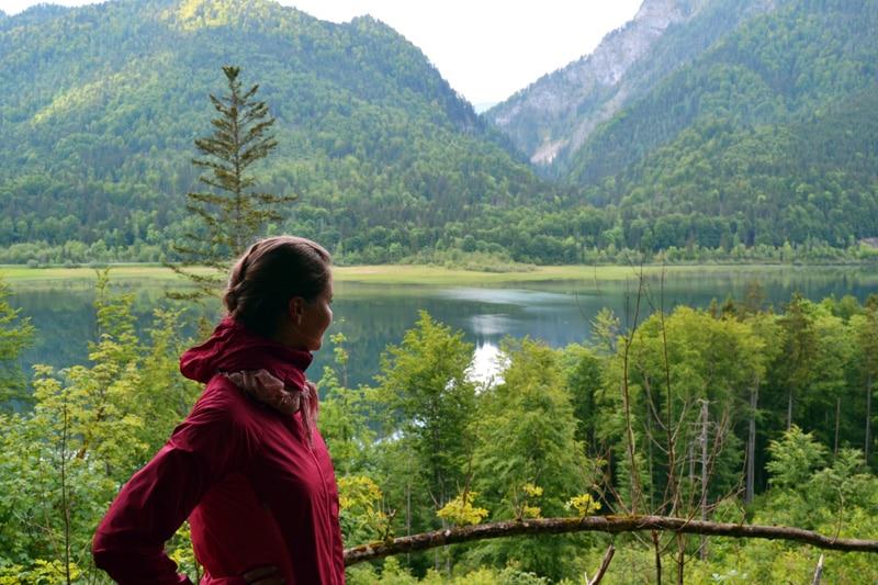 klarer Bergsee bei Reit im Winkl