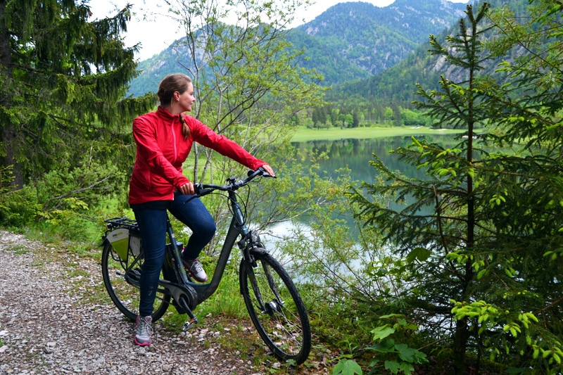 E-Bike Tour in Reit im Winkl im Chiemgau, Bayern