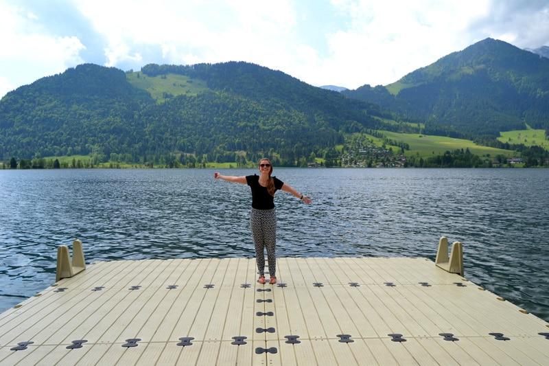 Deutschland: Walchsee in Bayern