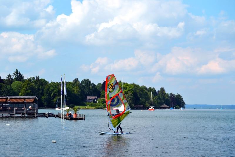 Windsurf Material Surfschule Tutzing Starnberger See