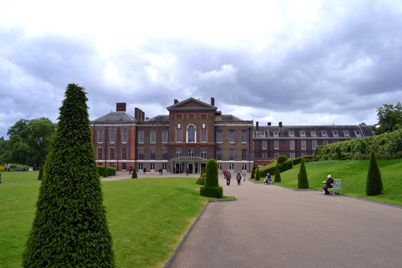 Kensington Palace im Hyde Park, London