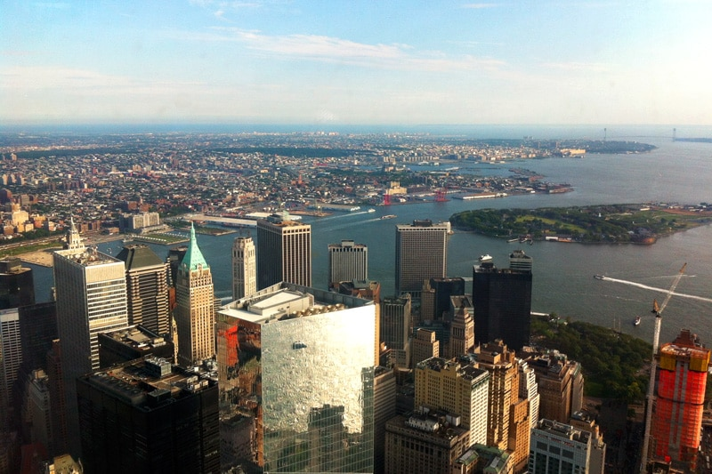Ausblick vom One World Observatory in New York