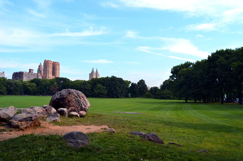 Reise nach New York: Central Park in New York City