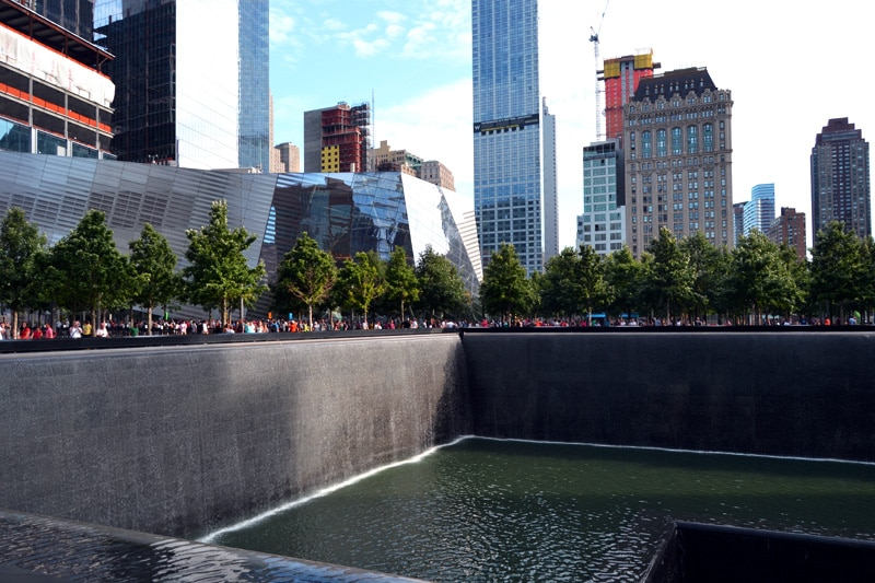 Granitbrunnen am Ground Zero, New York