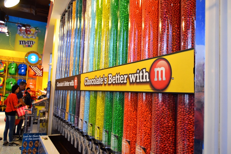 New York Times Square M&Ms Store