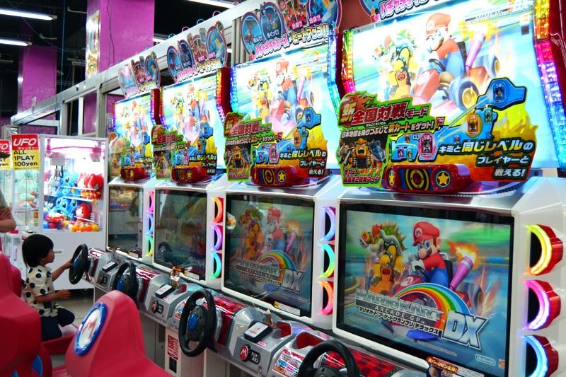 Spielhalle in Odaiba, Tokio