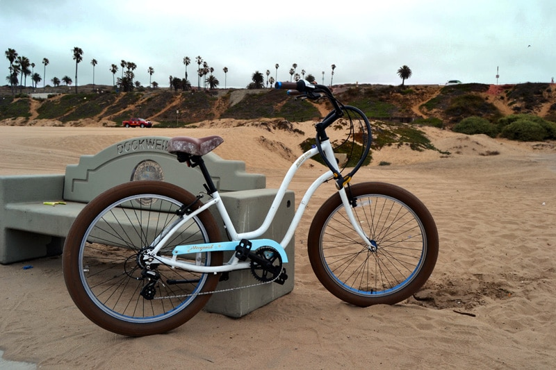 Beachcruiser am Marvin Braude Bike Trail