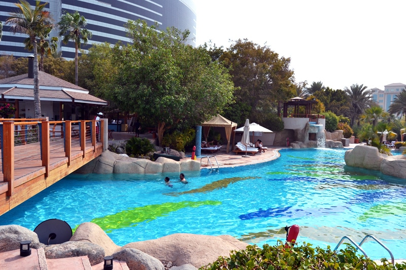 Pool im Grand Hyatt Dubai