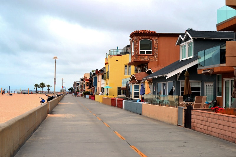 Marvin Braude Bike Trail vom Redondo Beach nach Venice