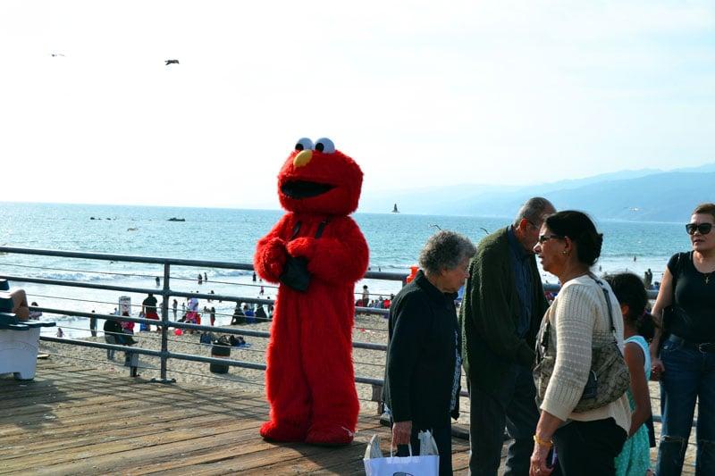 Santa Monica Pier Elmo
