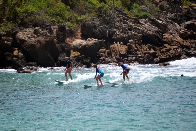 Surfen Playa Carrizalillo Strand in Puerto Escondido