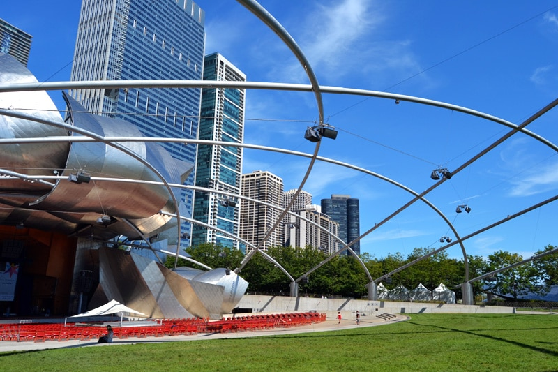 Chicago Sehenswürdigkeiten: Chicago Jay Pritzker Pavilion