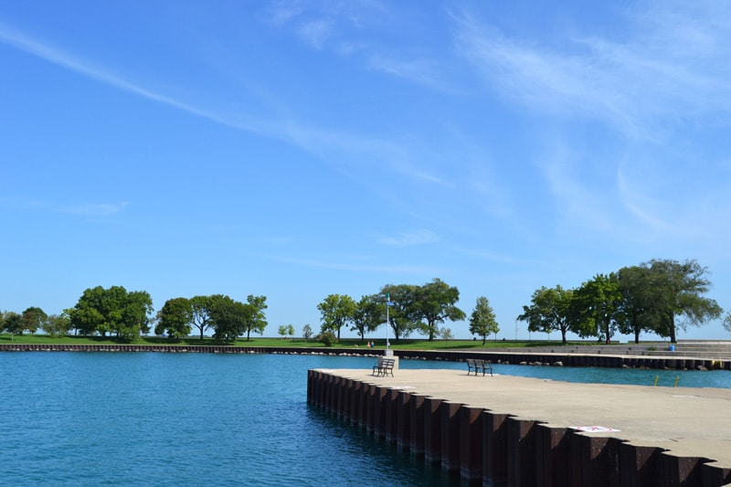Chicago Lincoln Park Lakefront Trail