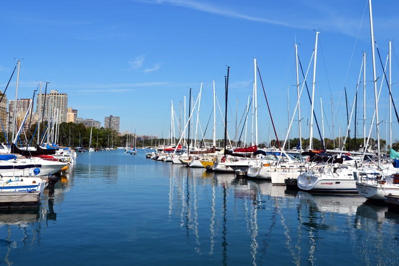 Chicago Sehenswürdigkeiten: Chicago Diversey Harbour