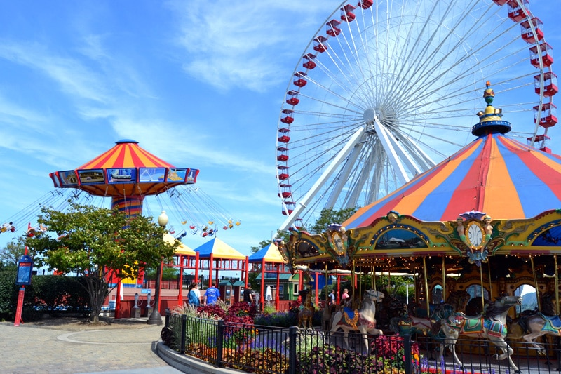 Navy Pier in Chicago: Vergnügungspark
