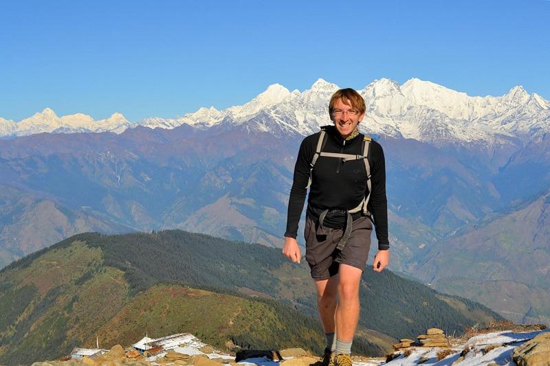 Fit bleiben auf Reisen: Florian vom Flocblog im Himalaya