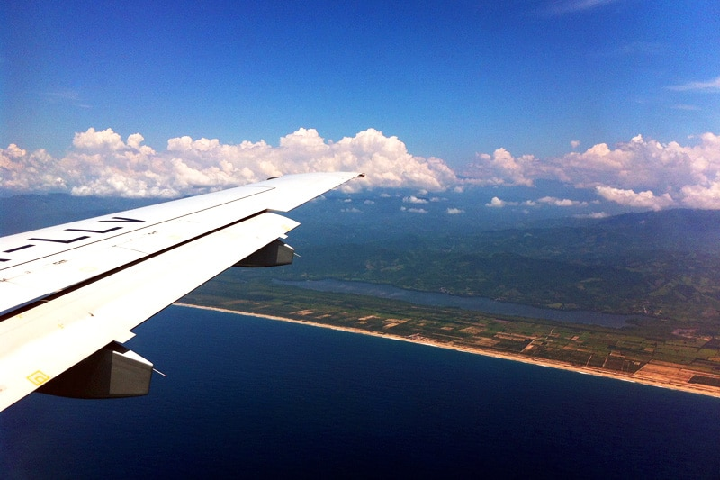 Interjet Anflug Puerto Escondido