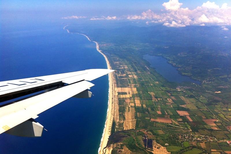 Interjet Anflug auf Puerto Escondido