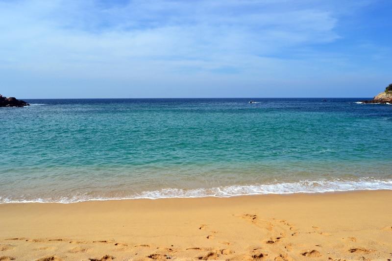 Playa Carrizalillo Bucht in Puerto Escondido
