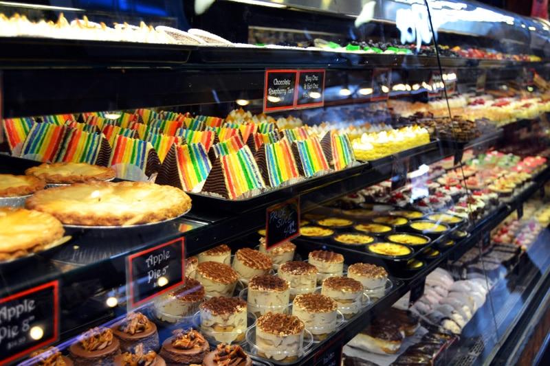 Vancouver Granville Island Market Cake