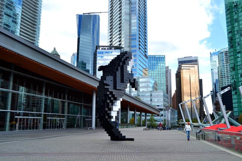 Hafen von Vancouver Digital Orca