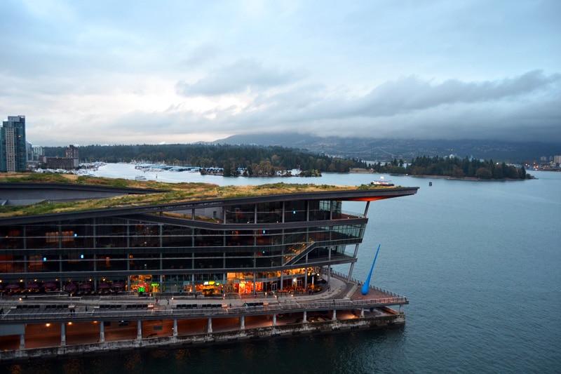 Vancouver Hafen Ausblick vom Pan Pacific