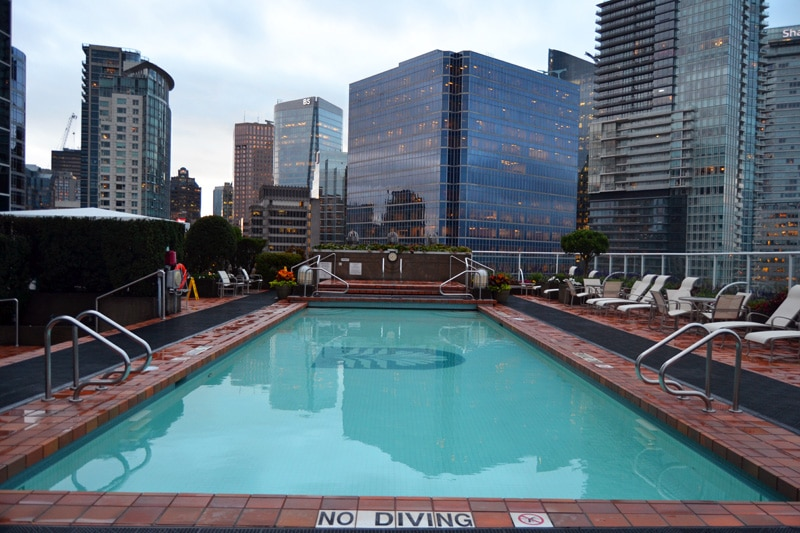Pan Pacific Hotel Vancouver Outdoor Pool