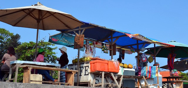 Markt am Echo Beach in Canggu, Bali