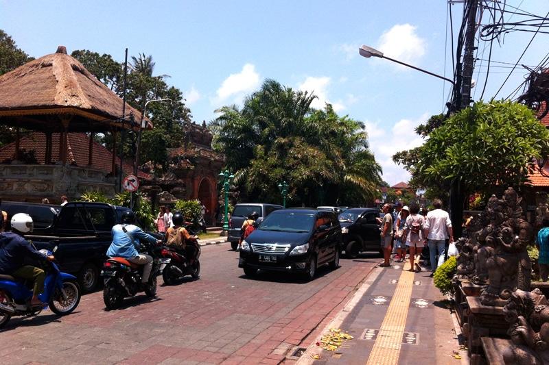 Bali: Innenstadt von Ubud