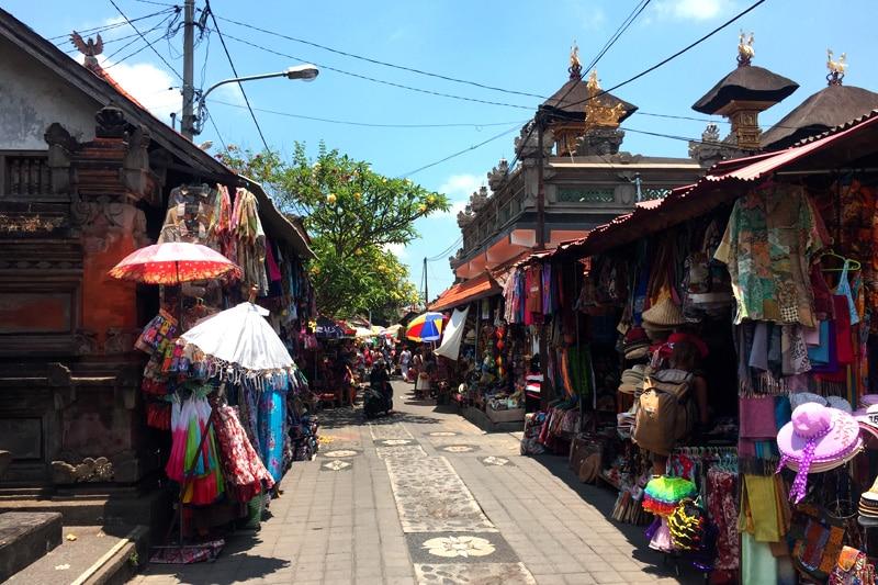 Bali: Arts and Craft Markt in Ubud