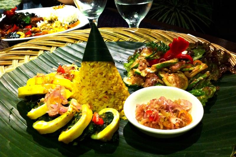 Balinesische Küche Bali
