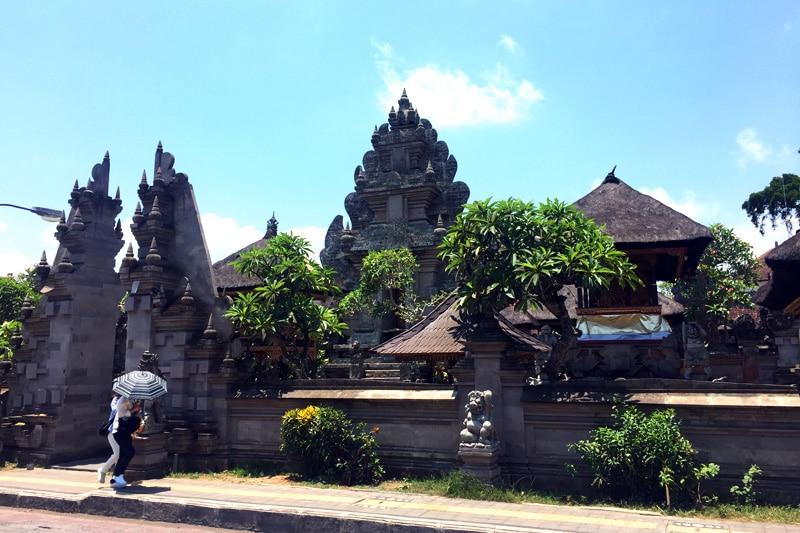 Bali: Innenstadt von Ubud Tempel
