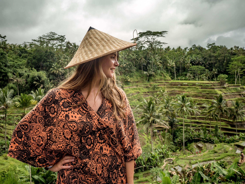 Reisfelder: Reisterrassen in Ubud, Bali