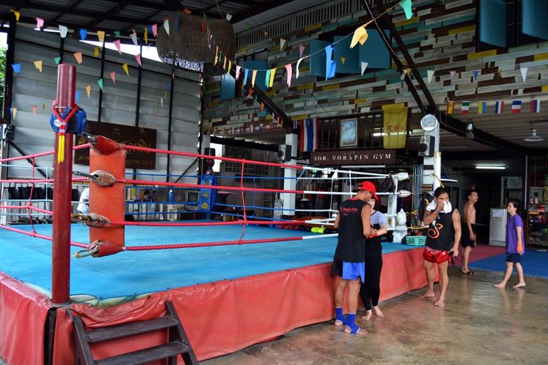 Thaiboxen Muay Thai Gym Soi Vorapin Bangkok